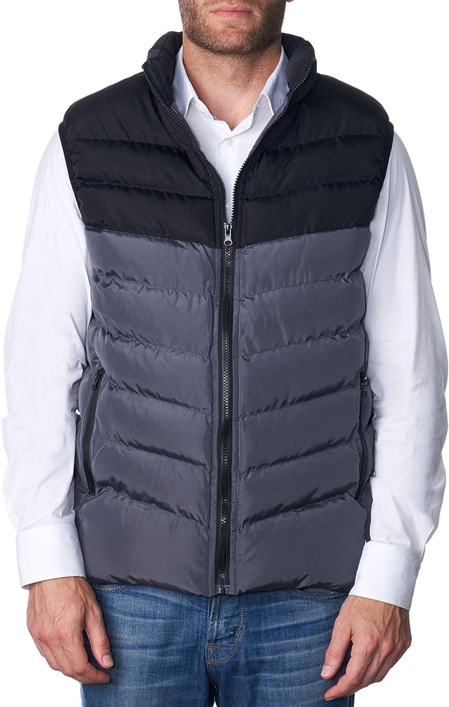 Alpine Swiss Brock Mens Lightweight Water-Resistant Down Puffer Vest