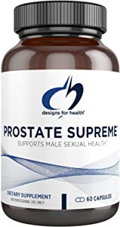 Designs for Health Saw Palmetto Prostate Supplement for Men - Prostate Supreme with Saw Palmetto, DIM, Vitamins, Nettle, Z...