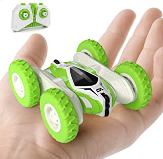 Sinovan Mini RC Cars Stunt Car Toy, 4WD 2.4Ghz Remote Control Car Double Sided Rotating Vehicles 360° Flips, Kids Toy Cars...