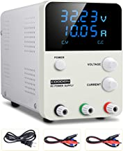 DC Power Supply Variable Switch, COODEN 0-30V 0-10A Power Supply Adjustable Regulated Power Supply Digital with Alligator Leads US Power Cord CP3010S