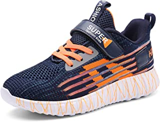 CELANDA Kids Trainers Running Shoes Boys Fashion Sneakers Girls Gym Lightweight Breathable Athletic Shoes School Casual No...