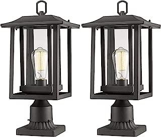 Best outdoor led post light fixtures Reviews