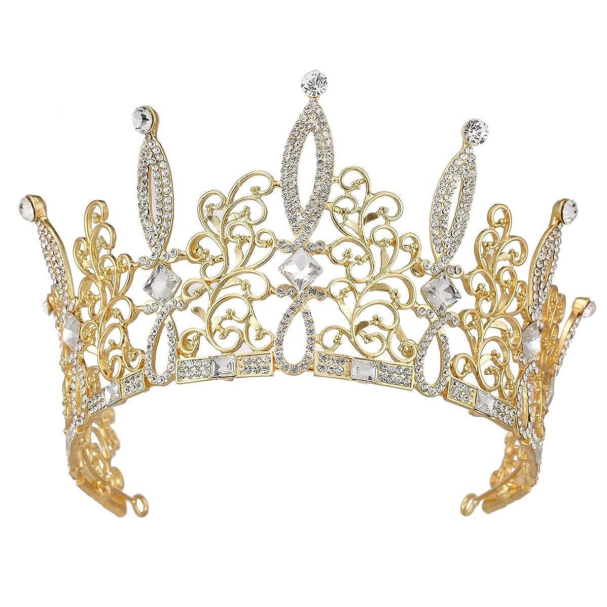 Santfe Rhinestones Crystal Tree Leaf Style Bridal Tiara Crown Headband Prom Wedding Hair Jewelry