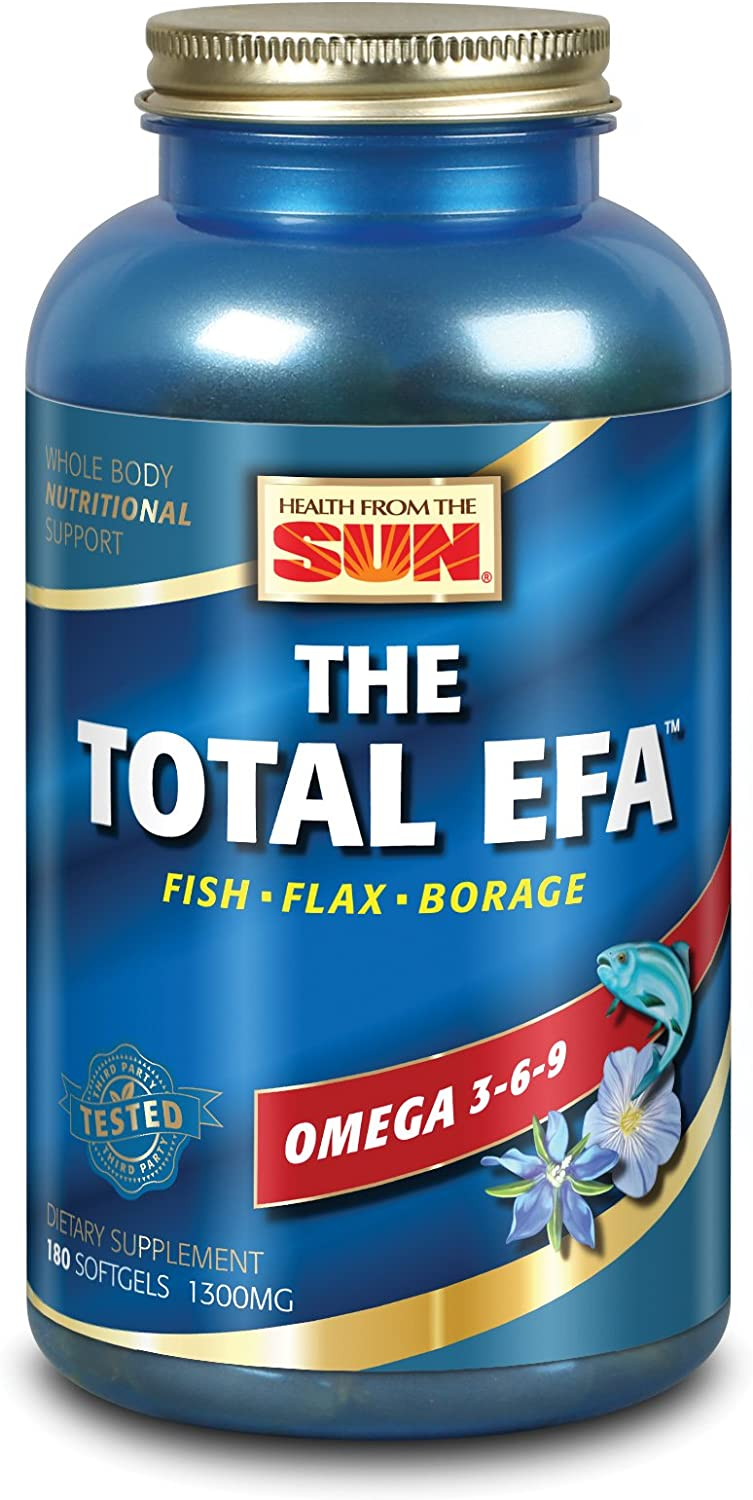Health from Max 84% OFF The Sun Softgels Bombing new work 180 Total EFA