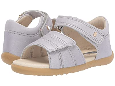 Bobux Kids Step Up Hampton (Infant/Toddler) (Silver) Girls Shoes