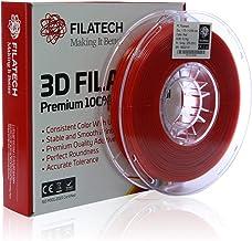 Filatech PC Filament, Red, 1.75mm, 0.5 kg, Made in UAE