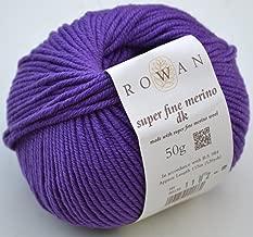 rowan super fine merino dk yarn