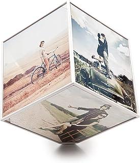 Balvi - Marco Kube giratorio 6x 10x10, 1xAA (No incluida),