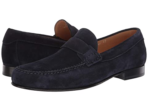 Canali Moccasin Toe Loafer