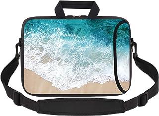 iCasso Laptop Sleeve 11.6-12.1 Inch Stylish Soft Neoprene Sleeve Case Cover Handbag for MacBook Air 11,MacBook Retina 12 I...