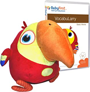 Baby First TV - VocabuLarry Set 1 - Plush and Basic Words DVD - PERFECT BIRTHDAY GIFT