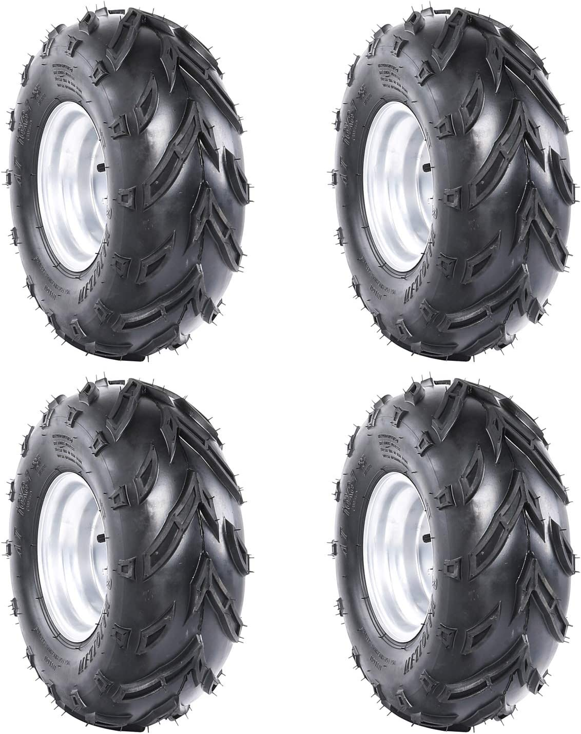 Safety and trust TDPRO 4PCS 16X8-7 Tires Wheels and Tubeless AT Max 45% OFF Rims Rim for with