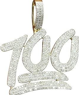diamond emoji pendant