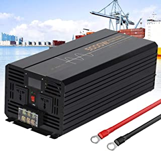 Pure Sine Wave Inverter 500W 1000W 1200W 1500W 2000W 2500W 3000W 3500W 4000W 5000W 6000W DC 12/24 Volt to 110/220Volt with...