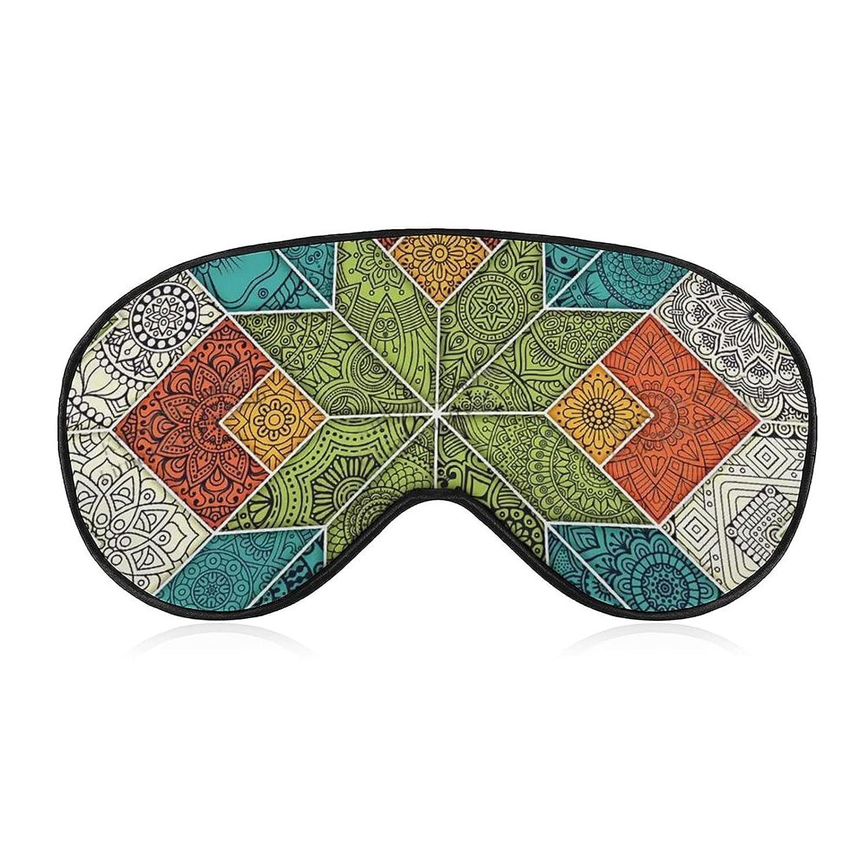 Ethnic New mail order Pattern Sleep Eye Mask Blocking Blindfo ...