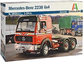 ITALERI 3943S - 1:24 Mercedes-Benz 2238 6x4, modelarstwo, budowanie modeli, budowa modeli stojących, majsterkowanie, kleje...