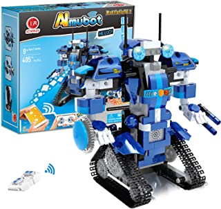 Robot Building Kit, Remote & APP Controlled STEM Learning Educational Science Building Toys for Kids Ages 8+, New 2021 (39...