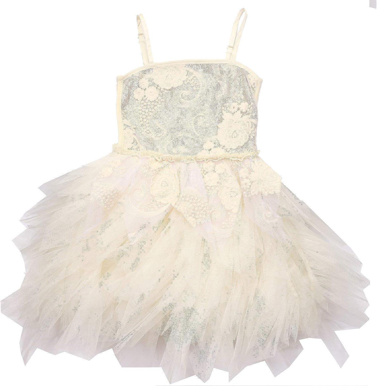 Ooh La La Couture Gorgeous Champagne Flowers Special Occasion Emma Dress