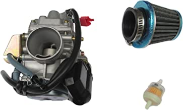 Performance CARBURETOR W/Filter for MANCO HELIX CARBIDE ZIRCON 150CC GO KART CARB