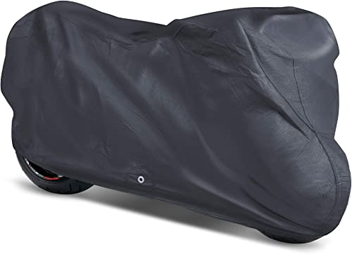 high quality OxGord Signature Motorcycle Cover - Water online sale discount Resistant 5 Layers - Ready-Fit / Semi Custom - Fits up to 120 Inches online sale