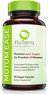 Pain Relief & Joint Support Supplement for Back, Hips, Hands & Knees - 2,100mg Glucosamine + Chondroitin + MSM + Turmeric ...
