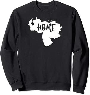 Venezuela My Home Map Shape T-Shirt Sweatshirt