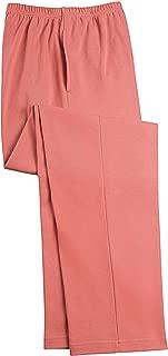 Elastic-Waist Interlock Pull-On Pants