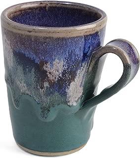 Larrabee Ceramics Coffee Mug, Mauve/Green