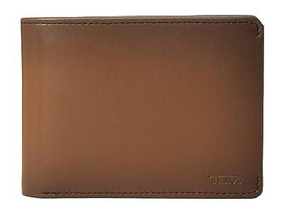 Tumi Nassau Double Billfold (Whiskey Burnished) Bill-fold Wallet