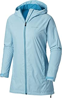 Columbia Womens Switchback Lined Long Jacket w/ Waterproof Shell
