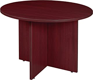 Regency Legacy Round Conference Table, Redwood, Redwood