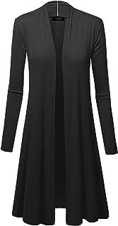 dressy long black cardigan