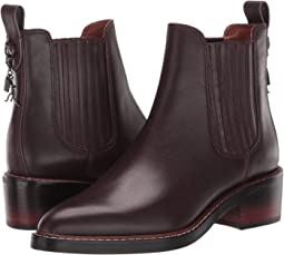 COACH Bowery Chelsea Boot - Leather,Oxblood