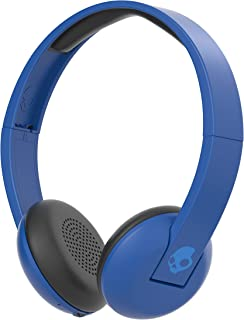 Skullcandy Uproar Bluetooth Wireless On-Ear Headphones with Built-In Microphone and Remote, 10-Hour Rechargeable Battery, Soft Synthetic Leather Ear Pillows for Comfort, Royal Blue