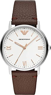 Emporio Armani Gents Wrist Watch, Brown