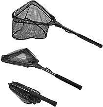 Caliber 40~70cm Fishing Landing Net Mesh Net for Fisher Nylon Sports Durable