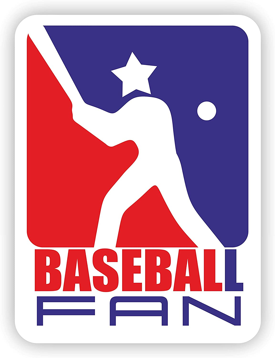 Sports Sticker Baseball Fan Design for Bottle on Water a Super beauty product restock quality Max 57% OFF top Sp