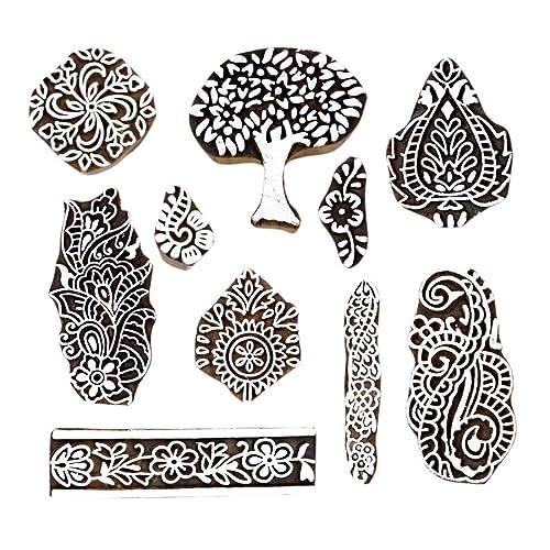 Search For Flights Lot Of 3 Decorative Wood Textile Stamp Fabric Border Print Blocks Printing Block Printing & Graphic Arts