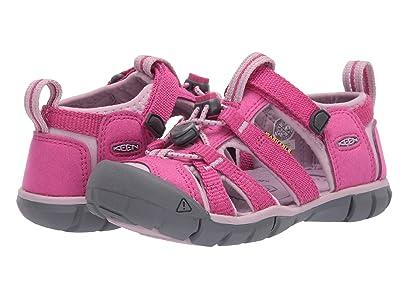 KEEN Kids Seacamp II CNX (Toddler/Little Kid) (Very Berry/Dawn Pink) Girls Shoes
