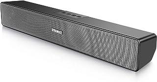 SAKOBS Computer Speakers, Wireless Laptop Computer Sound Bar, Stereo USB Powered Mini Soundbar Speaker for PC Tablets Desk...