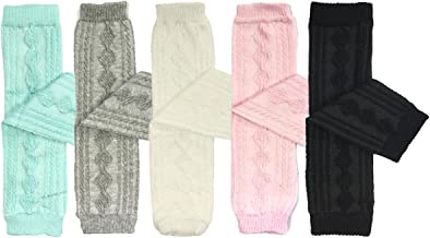 Bowbear Set of 5 Baby & Toddler Leg Warmer Collection Premium Value Pack