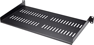 "Startech 1U Rack Shelf - 10"" Deep - Steel - Vented Rack Shelf - Rack Mount Shelf - Server Rack Shelf - Cantilever Shelf Co..."