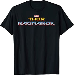 Marvel Thor Ragnarok Official Film Logo T-Shirt