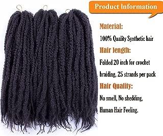 Long Marley 40 inches Kinky Twist Kanekalon Premium Synthetic Hair - Black/Blonde