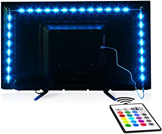 Sponsored Ad - Tv Led Backlight,Maylit Pre-Cut 6.56ft Led Strip Lights for 40-60in Tv,4Pcs USB Powered Tv Lights kit with ...