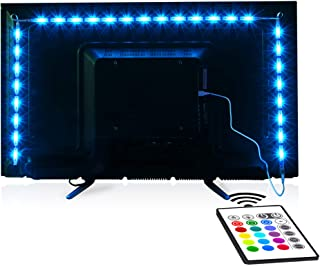 Tv Led Backlight,Maylit Pre-Cut 6.56ft Led Strip Lights...