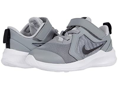 Nike Kids Downshifter 10 (Infant/Toddler) (Particle Grey/Black/Grey Fog/White) Kid
