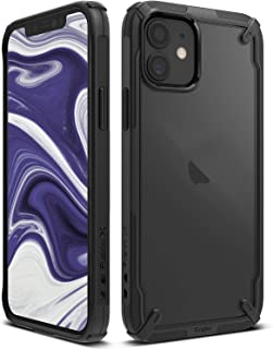 Ringke Fusion-X Compatible with iPhone 12 Mini Case Cover, Clear Back Shockproof Heavy Duty Advanced TPU Bumper Phone Case...
