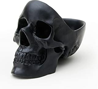 Suck UK Skull Tidy, Jewellry Box Accessories Container in Black - Perfect for Storing Keys, Jewellery, Stationary, Spare C...