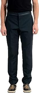 Hugo Boss Bartley Men's Wool Mohair Dark Green Dress Pants US 32 IT 48
